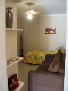 FLAT 4 LOUNGE 1X DOUBLE SLEPPER COUCH 1X SINGLE BED
